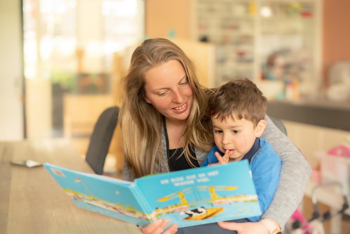 Lezen op de kinderopvang
